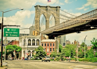 brooklyn bridge, brooklyn heights, brooklyn photo