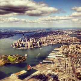 manhattan, new york city, skyline, instagram photo, iphone photo