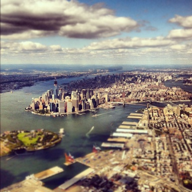 manhattan, new york city, skyline, instagram photo, iphone photo