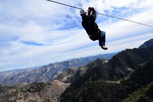 Zip Line Over Copper Canyon