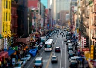 View to Chinatown, NYC