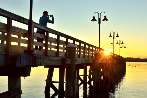 Maine Sunrise Photo
