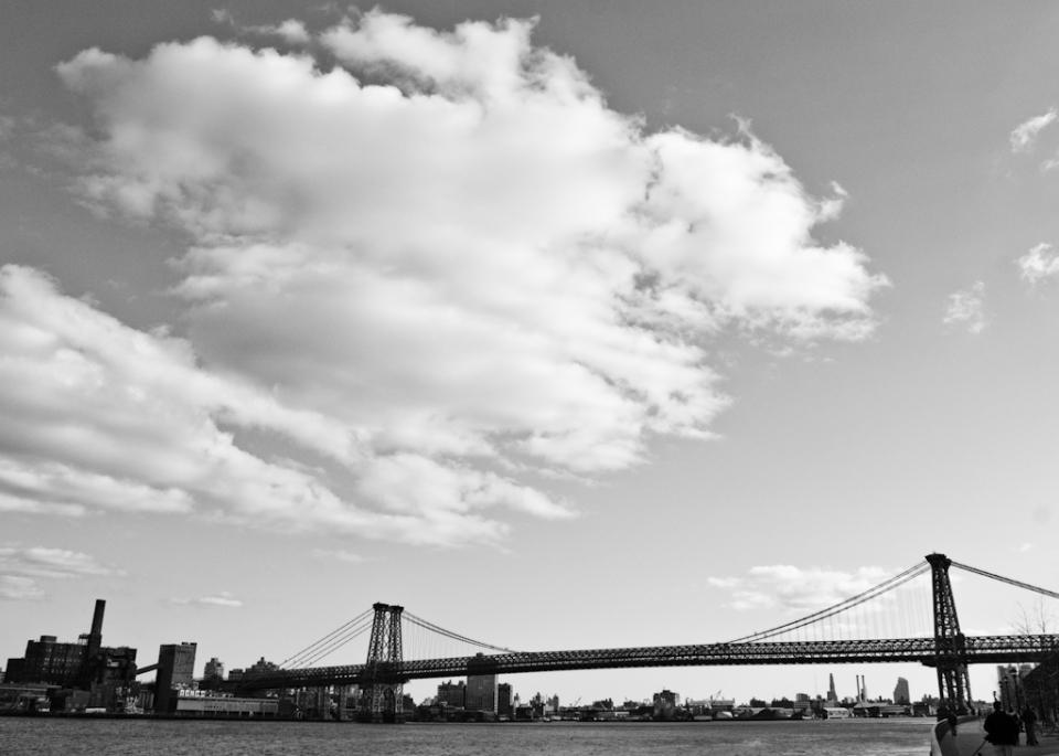 Williamsburg Bridge Skyline