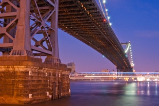Under the Manhattan Bridge
