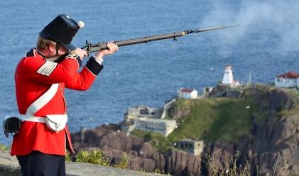 Musket Salute St John's Newfoundland