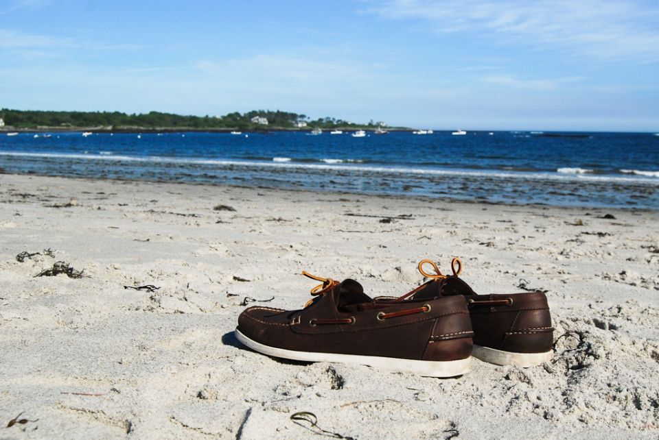 ll bean maine beach docksiders