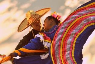 Traditional Mexican Dancers La Paz Baja California