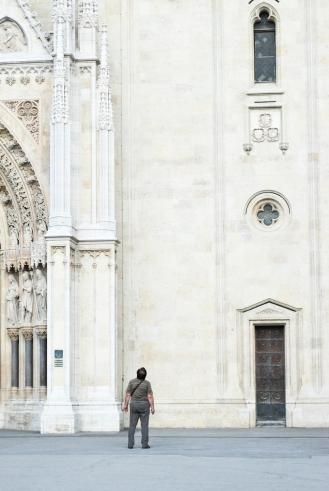 katedral cathedral in Zagreb Croatia
