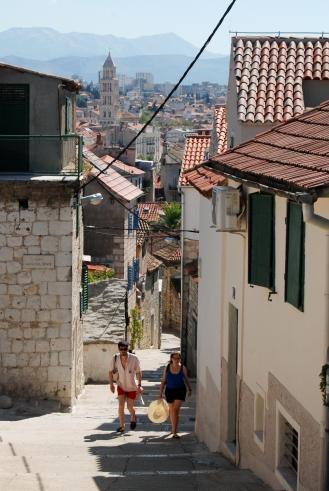 Honeymooners in Split