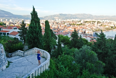 Split Croatia city view