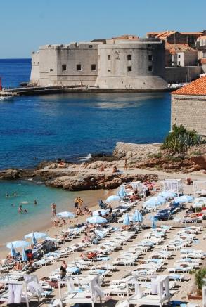 Dubrovnik Croatia beach