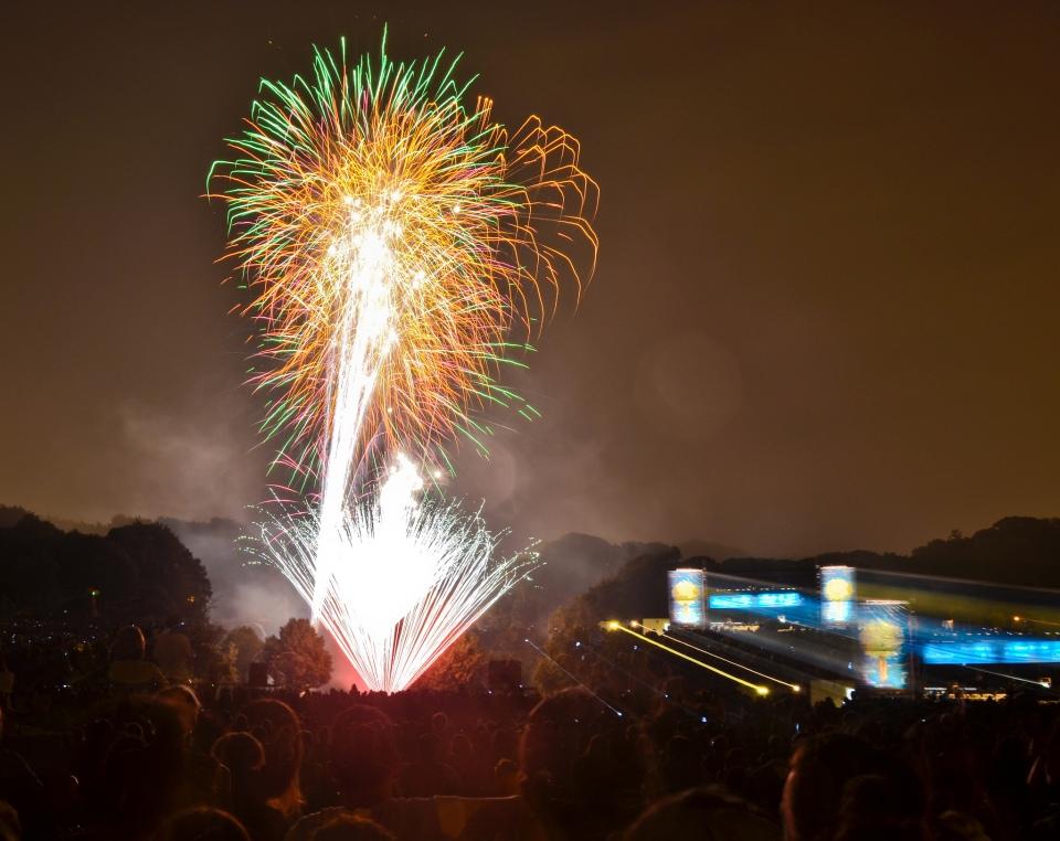 Brooklyn Fireworks Prospect Park