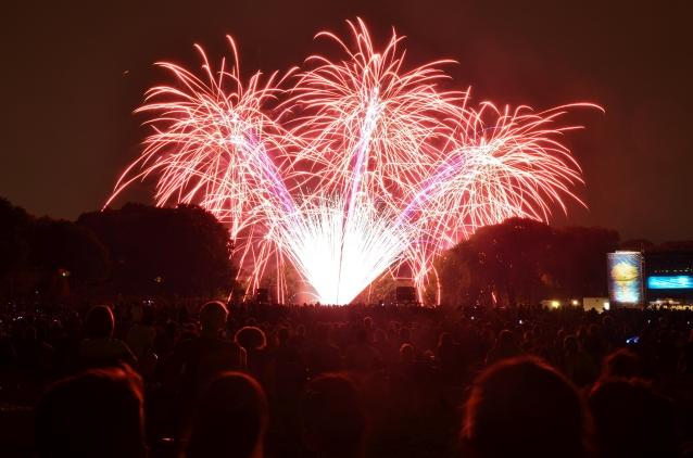 Prospect Park Brooklyn Fireworks