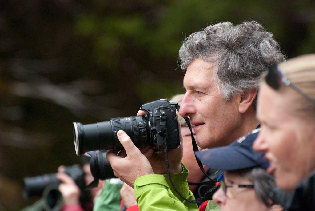 Photographer in Alaska