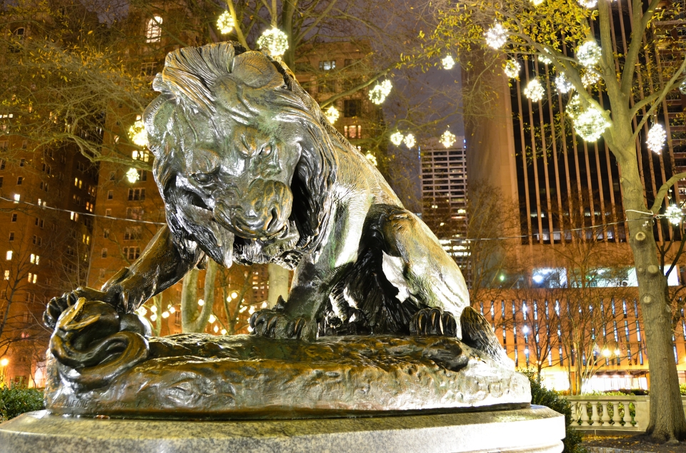 Rittenhouse Square Lion Serpent, philadelphia, philly, rittenhouse philadelphia, philly parks