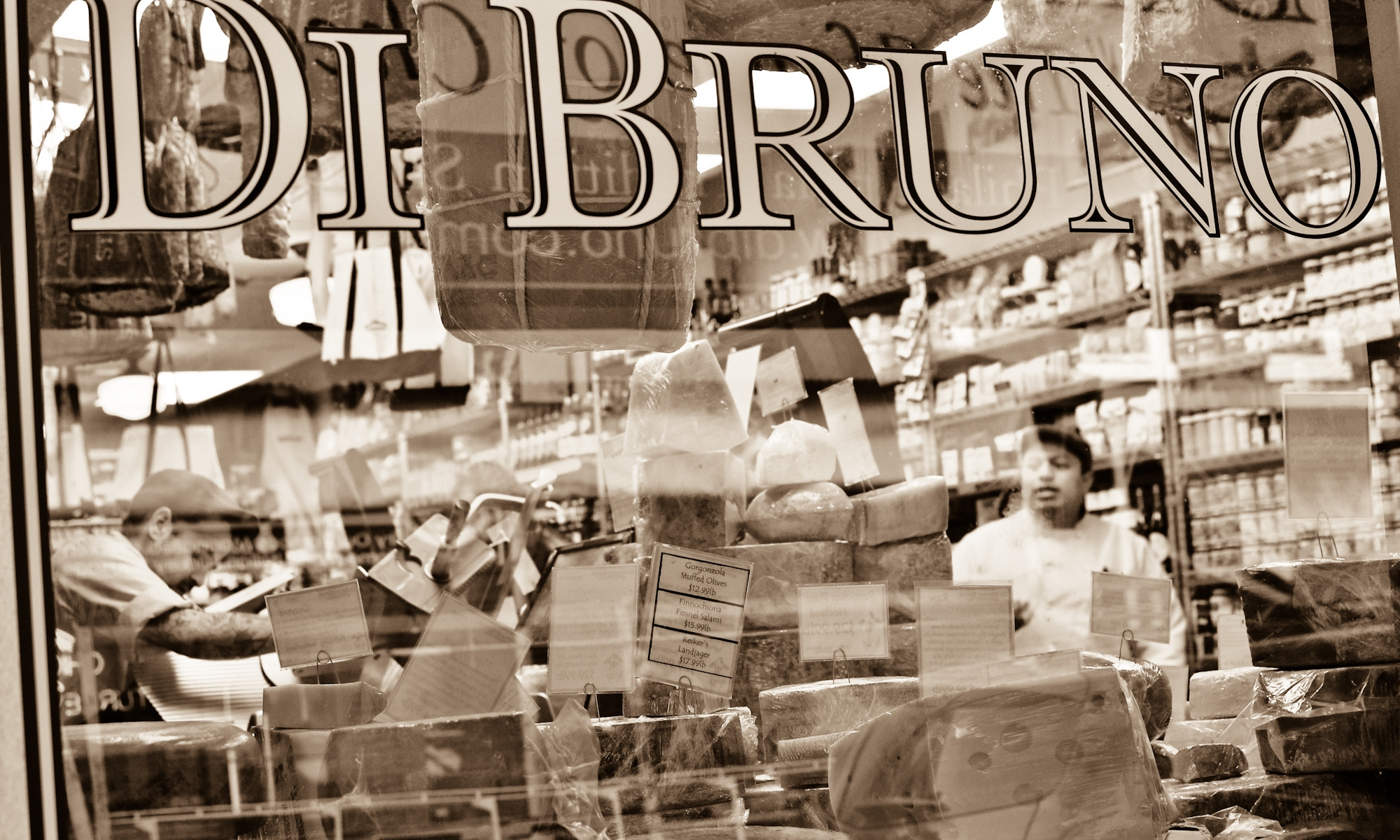 di bruno bros philadelphia, di bruno store, philadelphia, 9th street market, italian market, food,