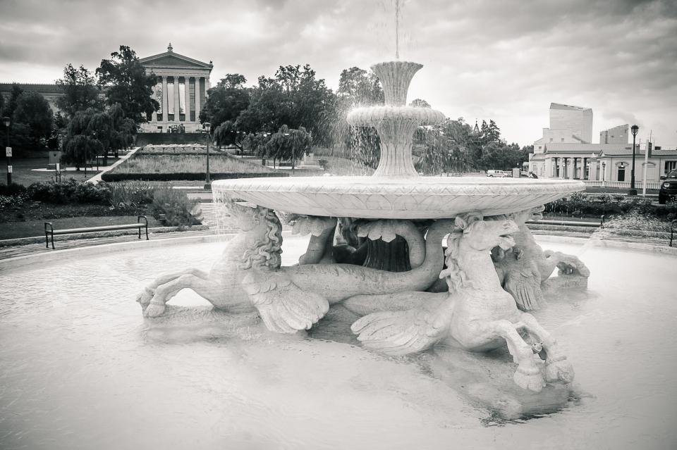 philadelphia art museum, photos philadelphia, philly art museum photos, black and white photography, visit philly,